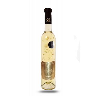 0,5 L Gold Cuvee víno so zlatom Vianočné/Novoročné želanie