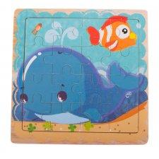 Detské puzzle: Delfín - 16ks