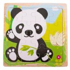 Detské puzzle: Panda - 16ks