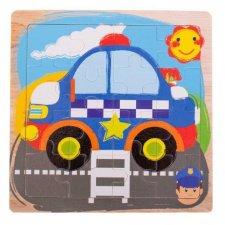 Detské puzzle: Polícia - 16ks