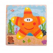 Detské puzzle: Hviezdička - 16ks