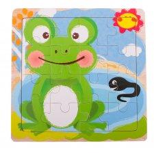 Detské puzzle: Žabka - 16ks