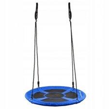 Hojdací kruh bocianie hniezdo - 90 cm - čierno-modrá