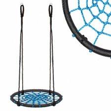 Hojdací kruh pavučina - 60 cm - modrý