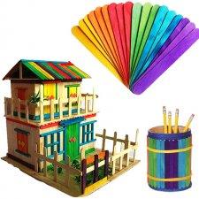 Kreatívne nanukové paličky – farebné 50 ks