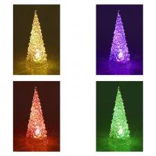 LED dekorácia na stôl, stromček