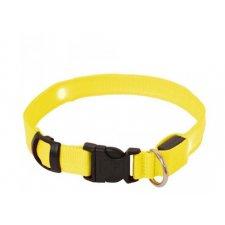 LED obojok: L Max 59cm – žltý