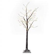 LED vianočný stromček, 120cm, vonkajší, teplá biela, časovač