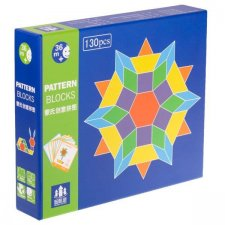 Montessori: Drevené puzzle – 155č