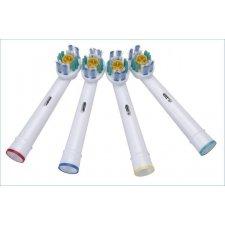 Náhradné hlavice pre zubné kefky 3D White: EB18-P– 4ks
