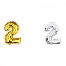 Narodeninový balón - číslo 2 - 40cm