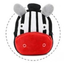 Plyšový batoh Kakoo: Zebra