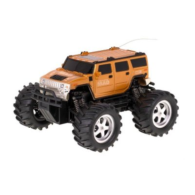 RC auto MAD Monster Truck – žlté