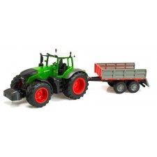 RC Traktor s prívesom