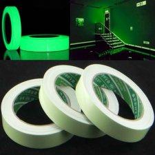 Samolepiaca fluorescenčná páska - 10 mm x 3 m