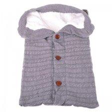 Pletený fusak pre bábätká – 70 cm