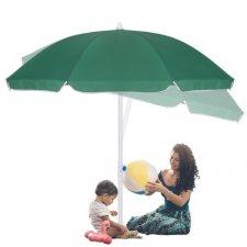 SPRINGOS Plážový slnečník 180 cm - zelený