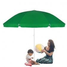 SPRINGOS Plážový slnečník 240 cm - zelený