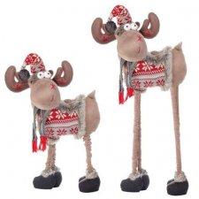 Springos Vianočný sob 84-124 cm