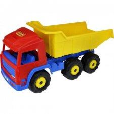 Veľké nákladné auto vyklápač