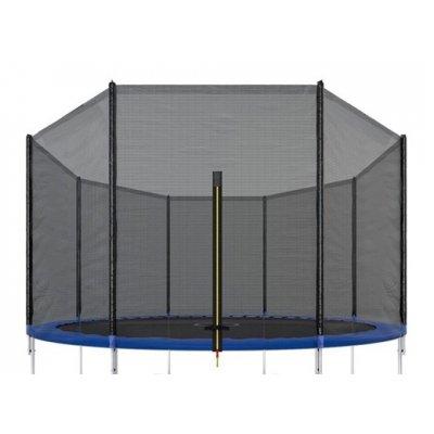 Vonkajšia ochranná sieť na trampolínu - 360/366/369 cm - čierna