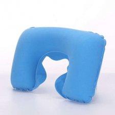 Nafukovací vankúš modrý