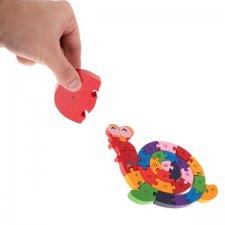 Detské puzzle: Slimák