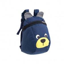Detský batoh modrý macko