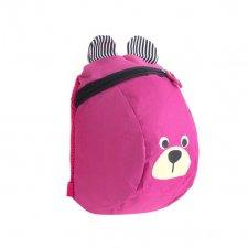 Detský batoh ružový macko