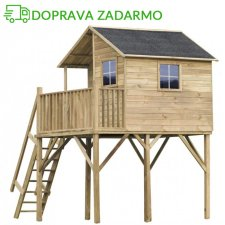 Drevený záhradný domček pre deti JOSH MAX
