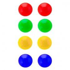 Farebné magnety na tabuľu 8ks