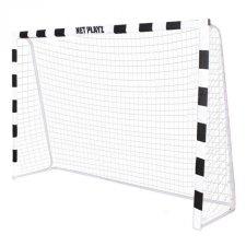 SPRINGOS Futbalová bránka čierno-biela 300x200x90cm
