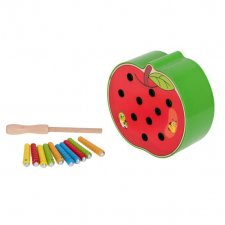 Hra Magnetické húsenice: Jablko