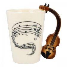 Hudobný hrnček – Husle