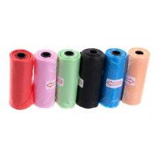 Igelitové vrecká: rolka 15 ks
