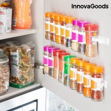 InnovaGoods Držiak na kuchynské korenie - 20 nádob