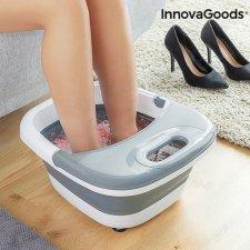 InnovaGoods Skladací masážny prístroj na nohy Aqua-relax