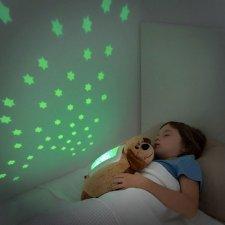 InnovaGoods Plyšový projektor nočnej oblohy Psík