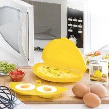 InnovaGoods Pomôcka na vajíčka do mikrovlnnej rúry