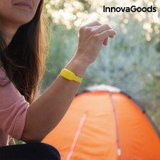 InnovaGoods Repelentný Náramok s vôňou Citronely - žltý
