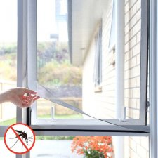 InnovaGoods Sieťka proti hmyzu do okna 100x120cm