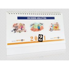 Kalendár 2021 Obchodná angličtina