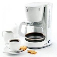 Kávovar, 1 l, 8 šálok, biela