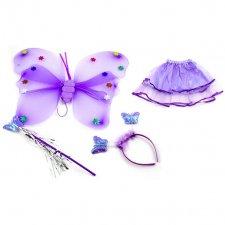 Kostým víla fialový