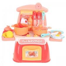 Kuchynka pre deti 30cm: ružová - 26 častí
