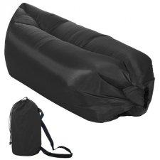 Lazy bag – nafukovací vak: čierny