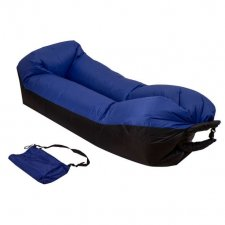 Lazy bag SOFA – nafukovací vak: modrý