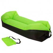 Lazy bag SOFA – nafukovací vak: zelený