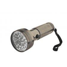 LED batériové svietidlo kovové