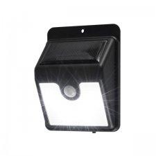 LED reflektor so solárnym panelom so senzorom pohybu